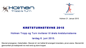 Kretsturn 2015