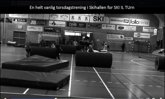 SKI IL TURN video fra Skihallen