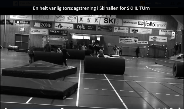 SKI IL TURN video fra Skihallen